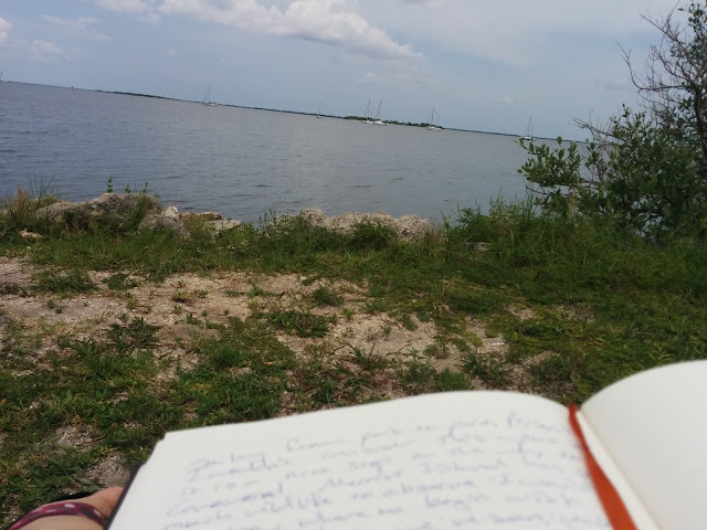Writing on the water