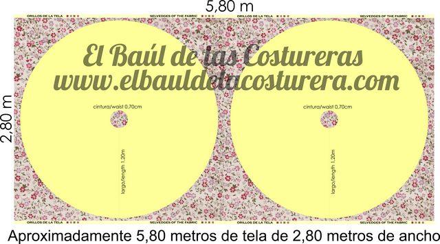 45b271113 Falda plato o circular larga