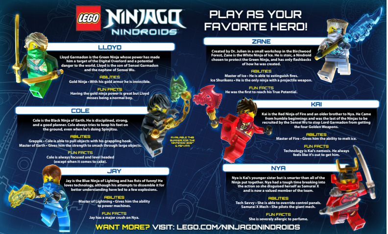 ChiIL Mama : WIN a LEGO NINJAGO: NINDROIDS GAME ($29 99