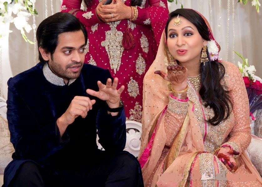 Pakistani Celebrity Naveed Raza Wedding Pictures - B  G -8615
