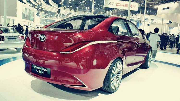2017 Toyota Dear Qin Sedan Price And Release Date