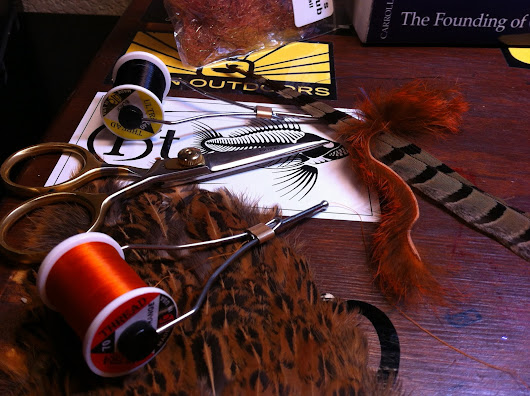 So, you want to tie carp flies? First, break all the rules. Then write your own.