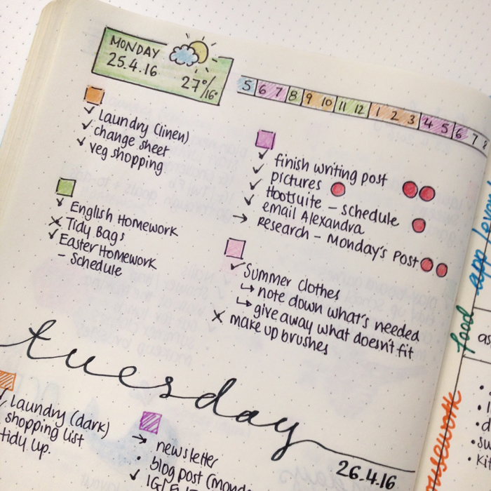 Talking about a time management technique called Pomodoro and how to use it with your Bullet Journal.