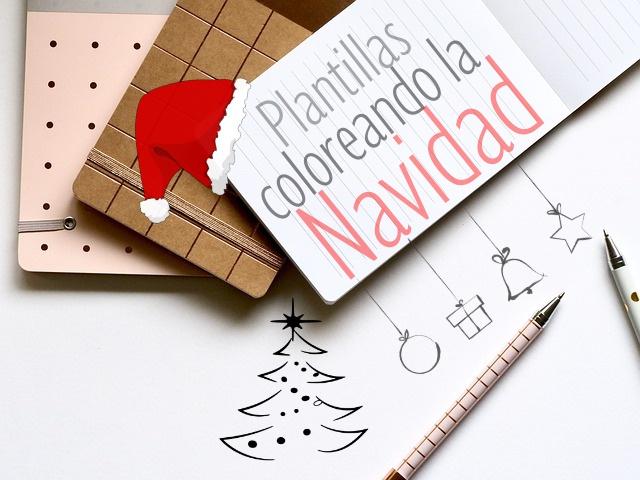 navidad colorear, plantillas navideñas, manualidades, láminas colorear