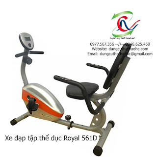Xe đạp thể dục Royal 561D chính hãng