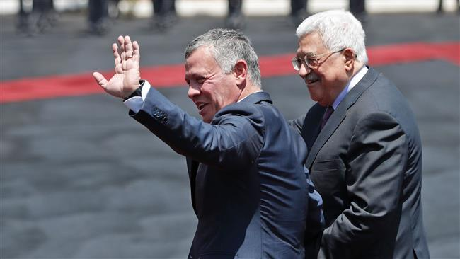 Jordan's King Abdullah II in occupied West Bank on rare visit