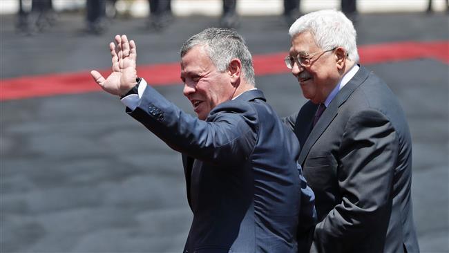 Jordan's King Abdullah II in occupied West Bank on rare visit