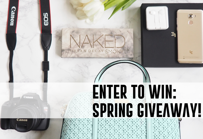 SPRING-GIVEAWAY-CANON-CAMERA-KATE-SPADE-BLOGGER-URBAN-DECAY-MARCH-FREE-PHONE