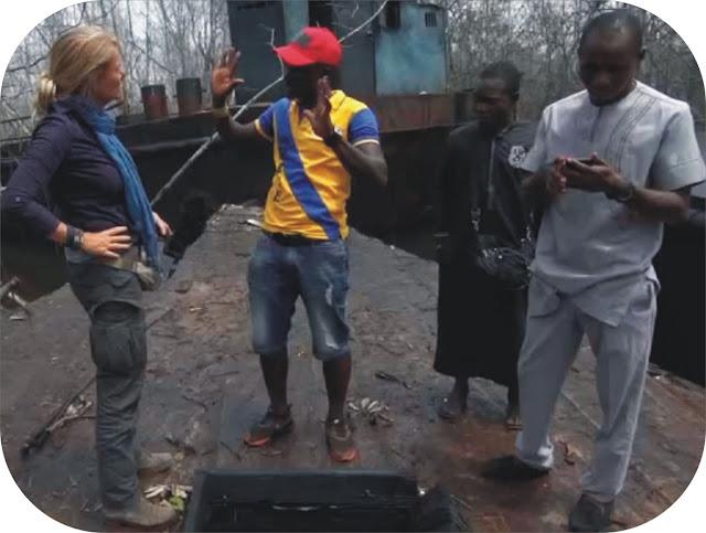 Niger Delta oil thieves