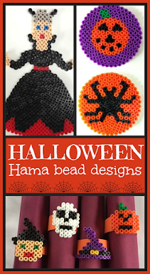 Hama bead crafts for Halloween
