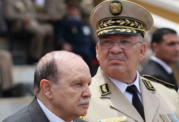 عاجل..رئيس الأركان الجزائري يطالب بحجب الثقة عن بوتفليقة