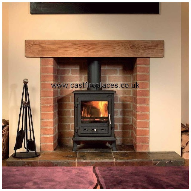 Brick Laminate Picture: Brick Fireplaces For Stoves