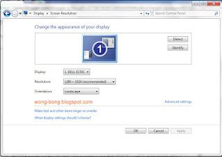 Tampilan Laptop Menjadi Lebar/Besar Setelah Install Ulang Windows