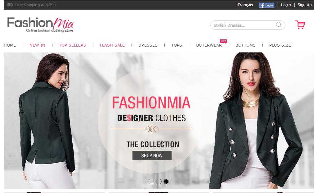 b8e501fb4 فاشيون ميا من مواقع التسوق الصينية الخاصة بالملابس النسائية والأزياء حيث  يضم جميع أنواع الملابس العصرية من سراويل ومعاطف والجاكيت والملابس الرياضة  والفساتين ...