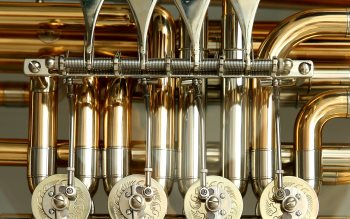 Wallpaper: Tuba Musical Instrument