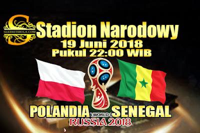 JUDI BOLA DAN CASINO ONLINE - PREDIKSI PERTANDINGAN PIALA DUNIA 2018 POLANDIA VS SENEGAL 19 JUNI 2018