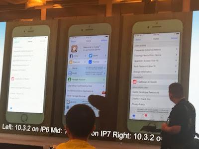 JB iOS 10.3.2/ iOS 11 beta has been jailbroken [Photos] iPhone Jailbreak