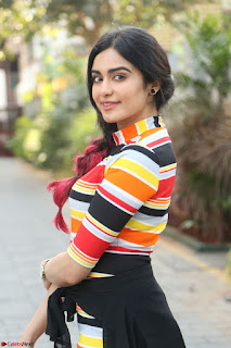 Adha Sharma in a Cute Colorful Jumpsuit Styled By Manasi Aggarwal Promoting movie Commando 2 (55).JPG