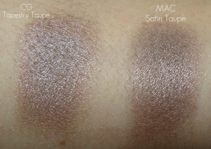 Affordable Beauty: DUPES for MAC Satin Taupe vs. CoverGirl ...