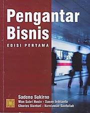www.ajibayustore.blogspot.com  Judul Buku :  PENGANTAR BISNIS EDISI PERTAMA Pengarang : Sadono Sukirno Penerbit : Kencana