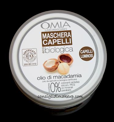 Review: Maschera Capelli Biologica Olio di Macadamia - OMIA