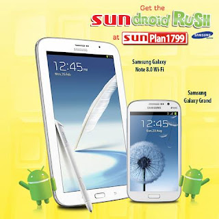 Samsung Galaxy Note 8.0 on Sun Cellular Plan 1799