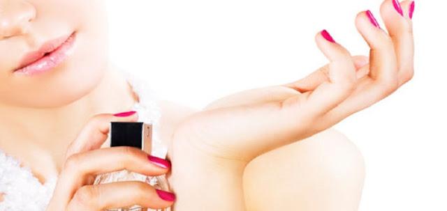 6 Titik Semprot Yang Dapat Membuat Parfum Lebih Tahan Lama dan Dapat Tercium Oleh Kita Sendiri