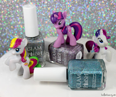 Glam Polish Friendship is Sparkly Trio
