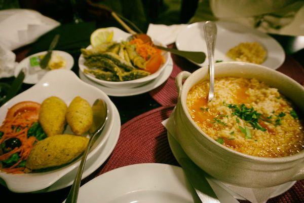 ポルトガルのレストランは人気店ではないレストランでも普通にレベル高い