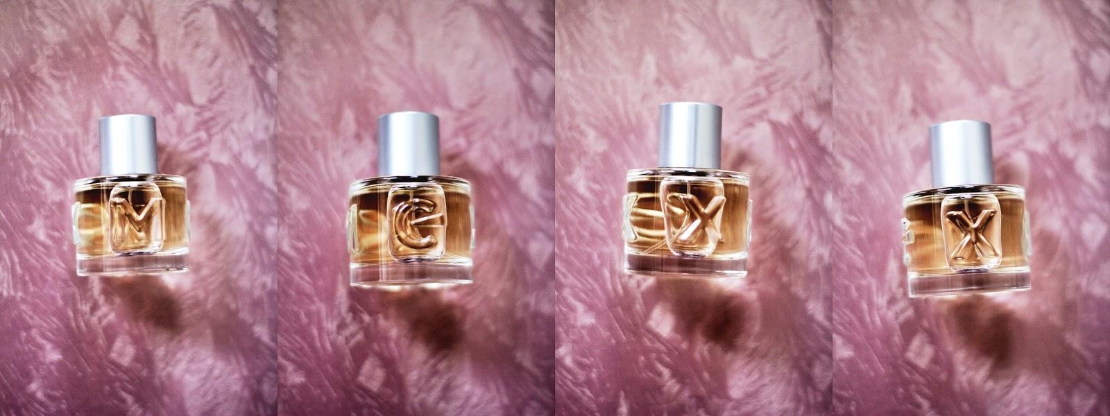 mexx parfüms flakon buchstaben