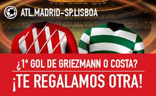 sportium promocion Atlético vs Sporting Lisboa 5 abril