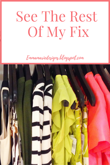 See exactly what clothes I got in my latest Stitch Fix Box! plus tips to help you get the best clothes from Stitch Fix @ emmamariedesigns.blogspot.com