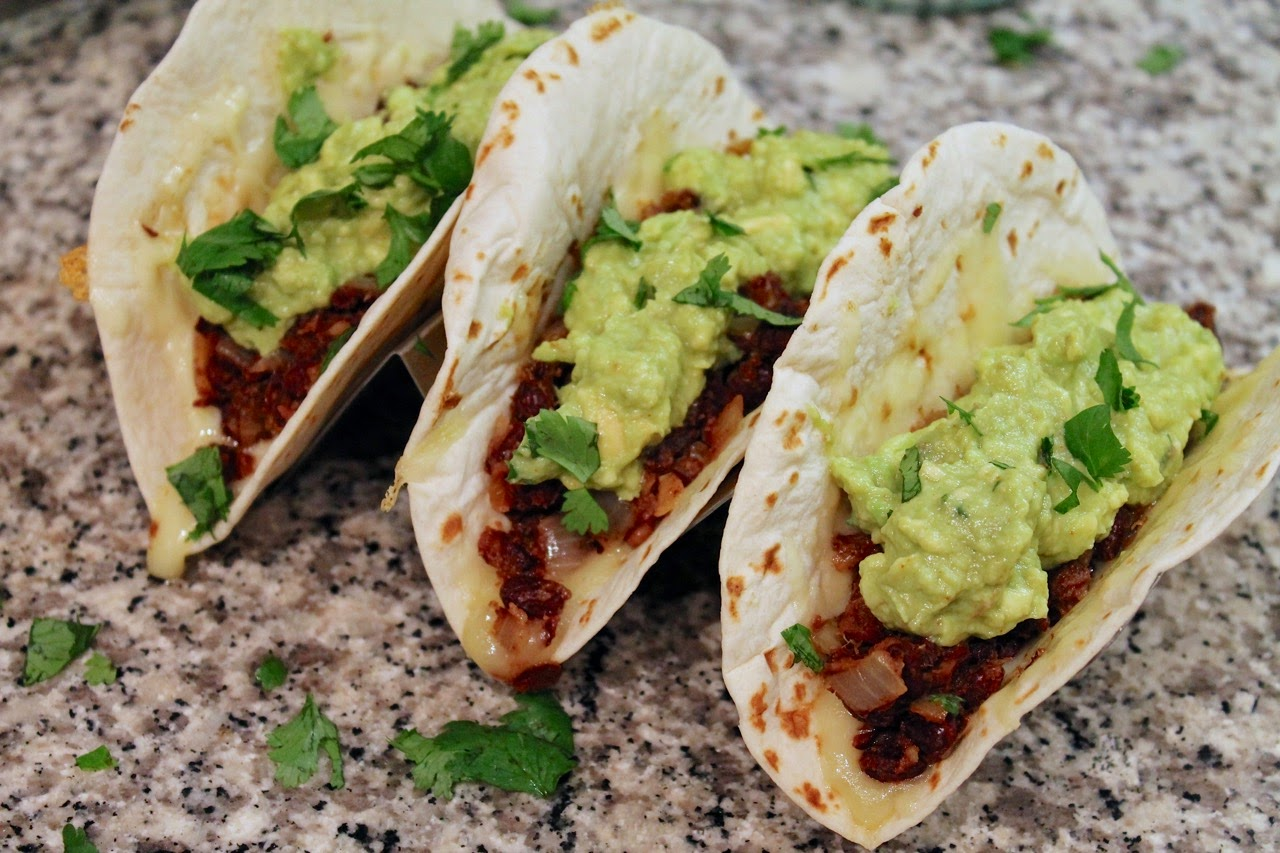 Black Bean and Avocado Tacos