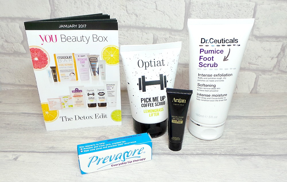 January 2017 You Beauty Box