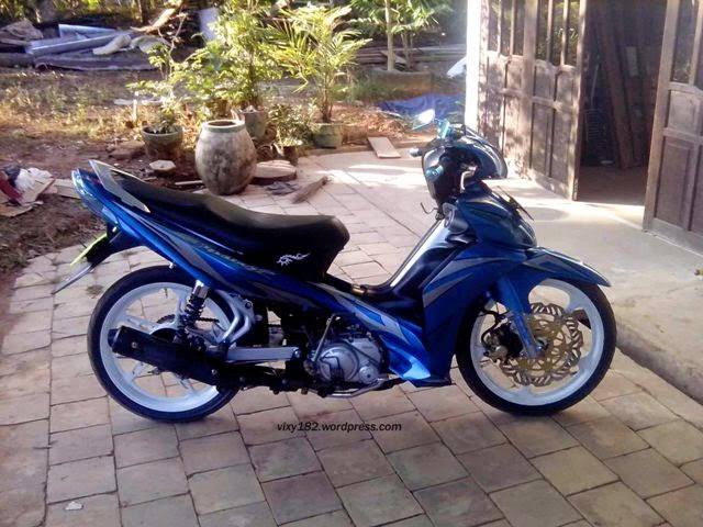 Modifikasi Motor Yamaha Jupiter Z 2010 Simple