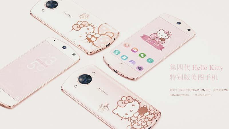 Varian Warna Smartphone Meitu M8