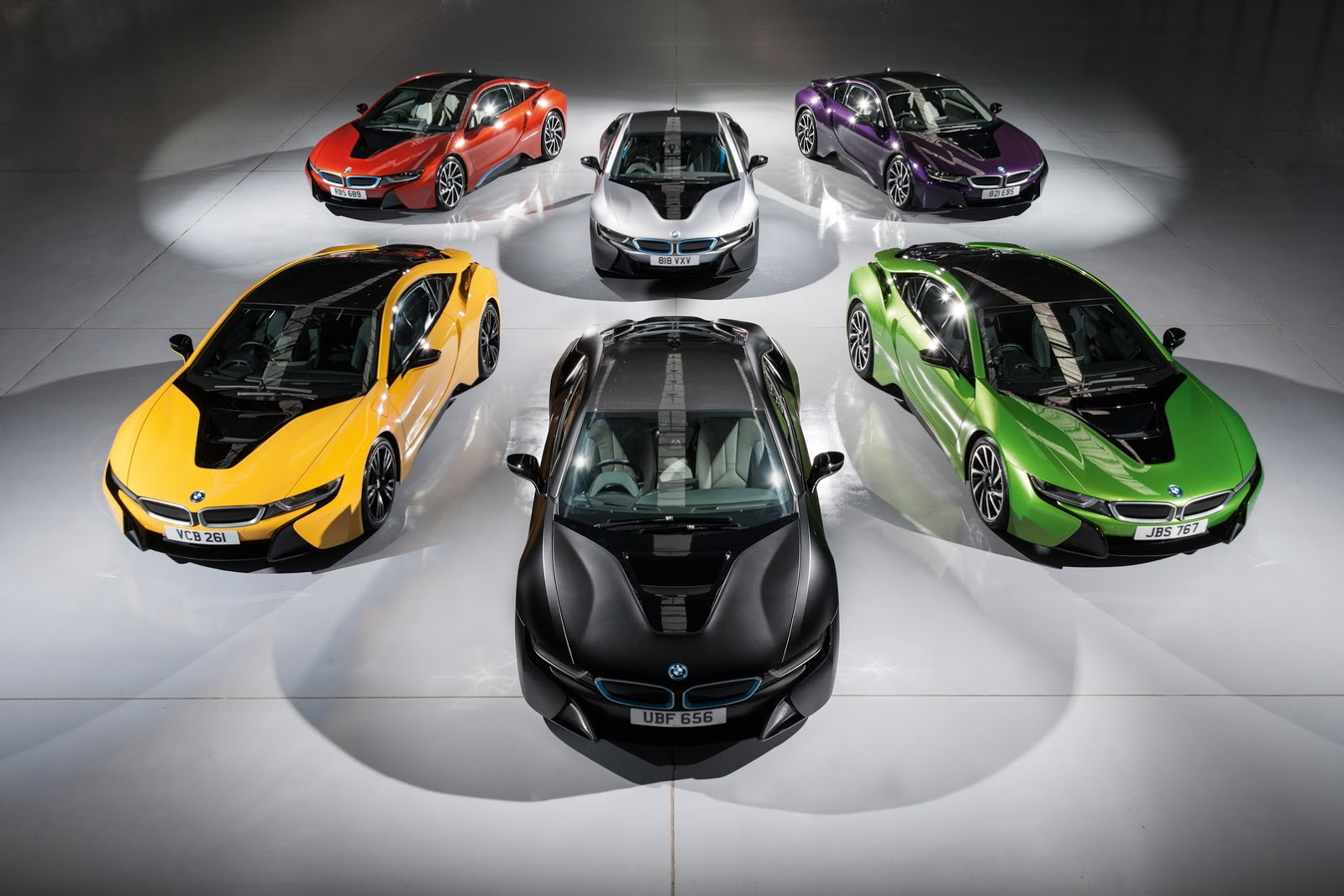 Bmw I8 Offered In Radical Individual Colours In Uk