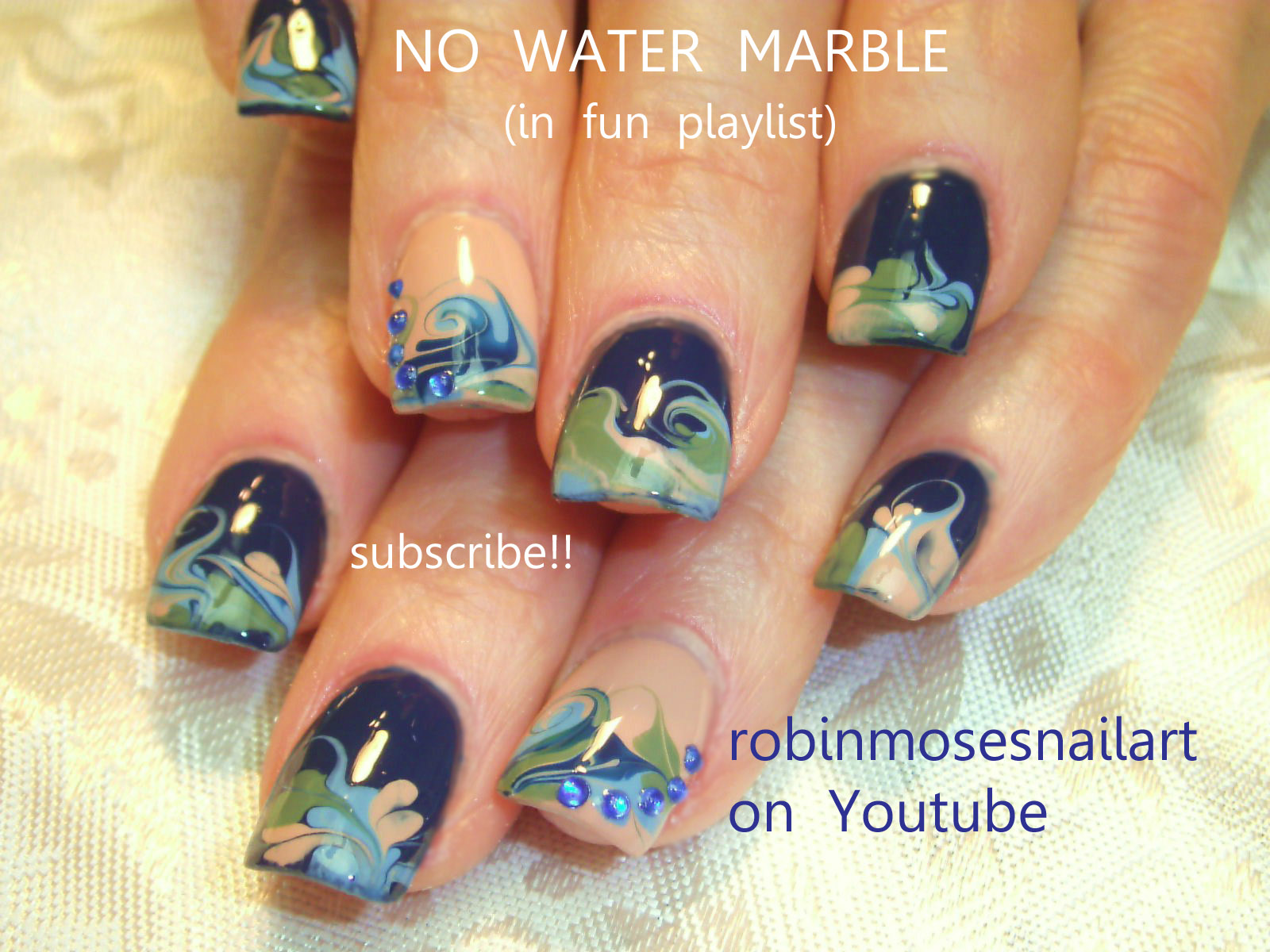 How To Do Nail Polish In Water Swirl Creative Touch