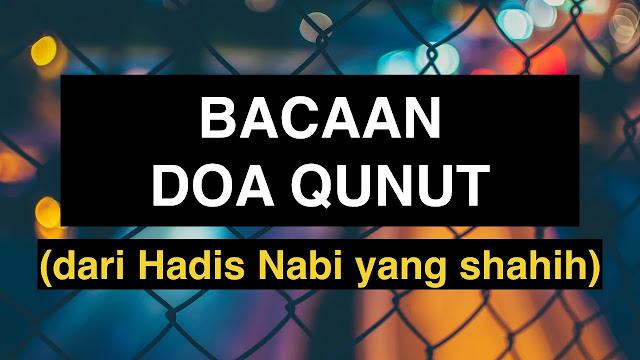 Jangan Lupa Nanti Malam Disunnahkan Baca Do'a Qunut saat Witir