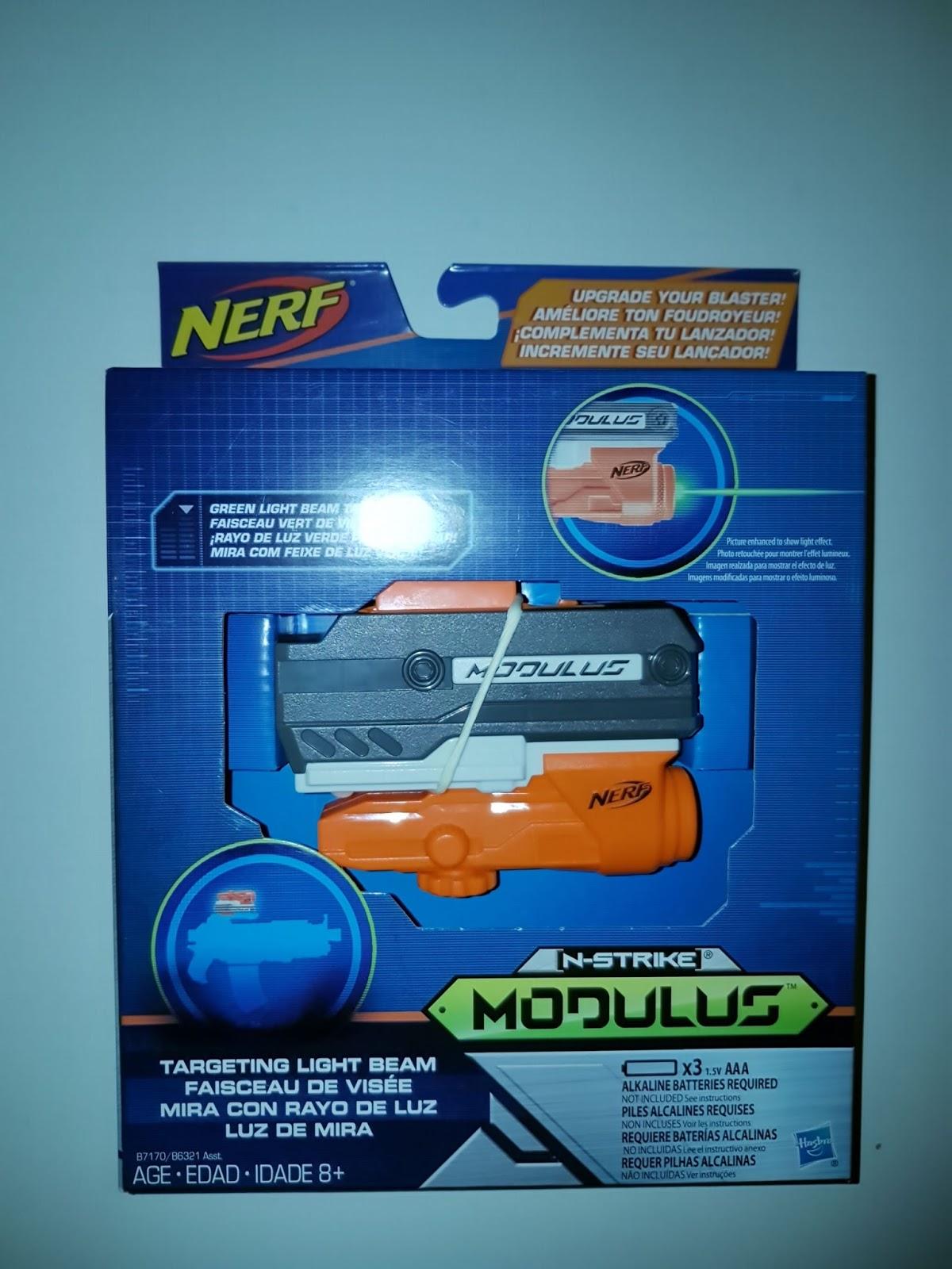 Blaster Think Tank Unboxing Nerf Modulus Targeting