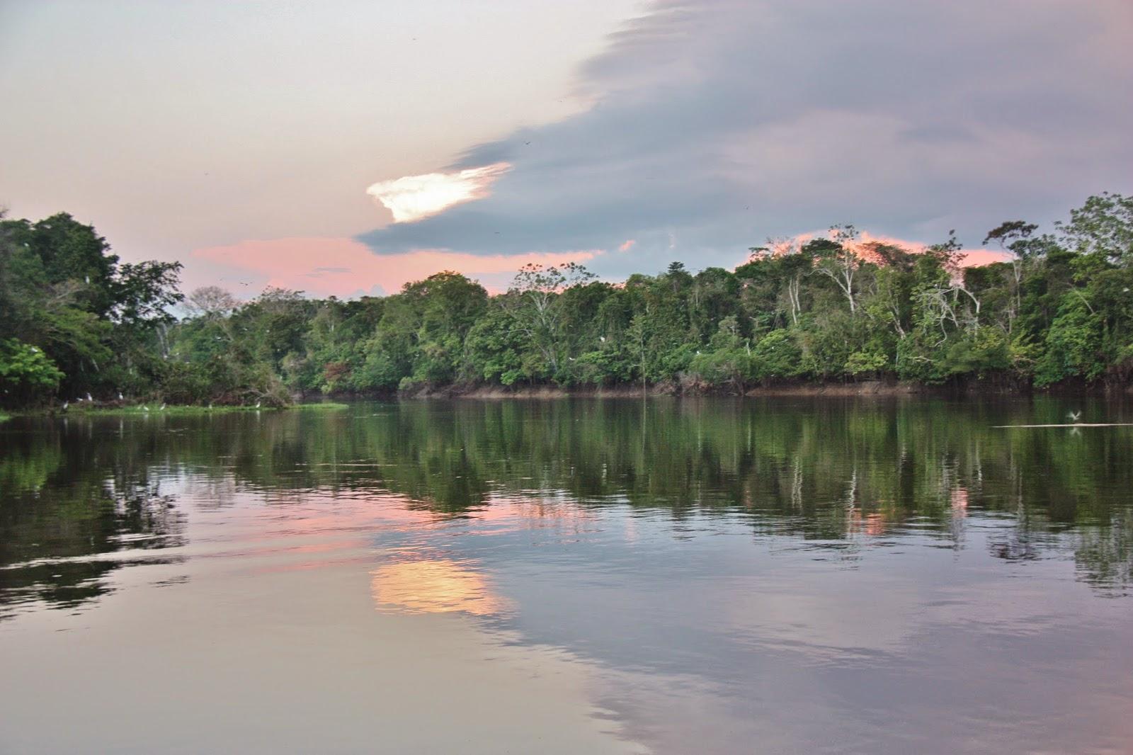 Turismo Comunitário e Sutentável na Reserva Mamirauá.