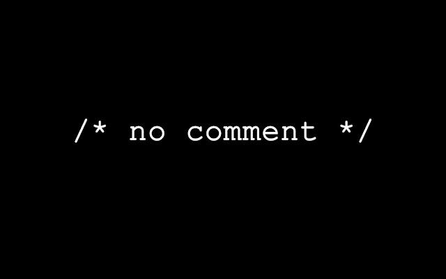 Prefiro não comentar - sem comentários