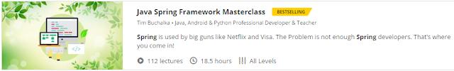 Java Spring Framework Masterclass