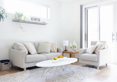54 Desain Ruang Tamu Nuansa Putih : Sederhana tapi Menawan
