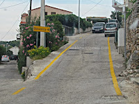 Follow the yellow line, obilaznica Sutivan slike otok Brač online