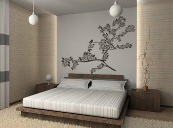 Pintar las paredes de un dormitorio dormitorios con estilo - Pintar pared dormitorio ...