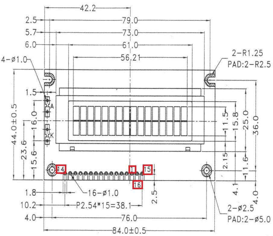 Rob's Raspberry Pi blog: Raspberry PI - Controlling 16 x 2