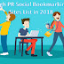 625 + Huge List of High PR Social Bookmarking Sites List in 2018