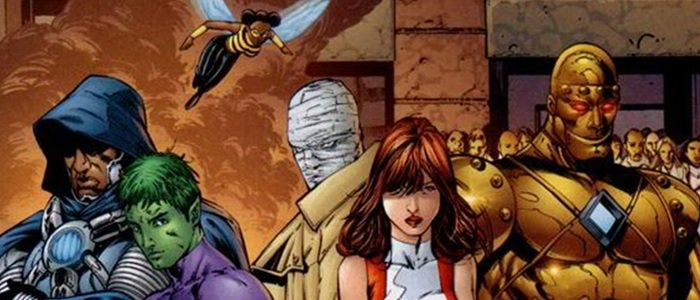 Titans live-Action TV Show To Feature Doom Patrol.