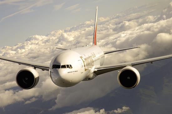 Emirates code Share Chiny